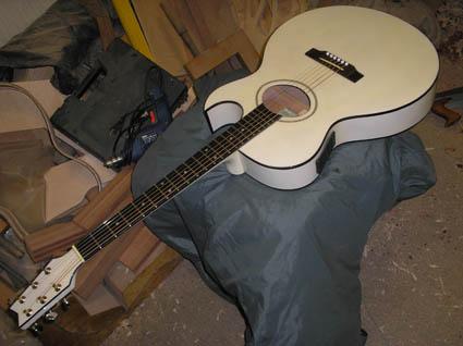 Белая гитара как у цоя купить